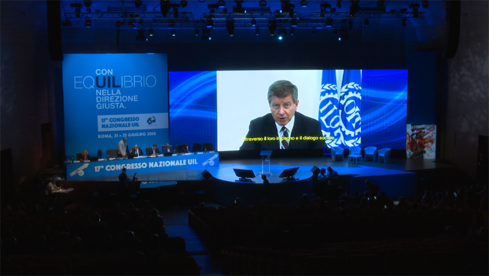 Intervento di Guy Ryder