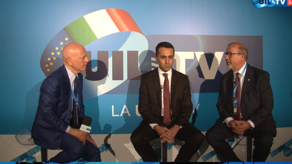 Intervista a Di Maio e Barbagallo